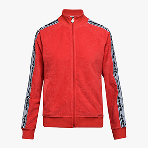 L. TRACK JACKET TROFEO, POPPY RED, medium