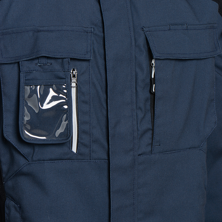 WORKWEAR JKT TECH ISO 13688:2013, DENIM BLUE, large