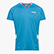 T-SHIRT, BRIGHT CYAN BLUE, swatch
