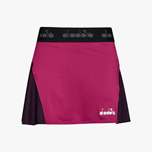 L. SKIRT, VIOLET BOYSENBERRY, medium