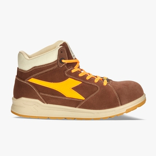D-JUMP HI S3 SRC ESD, BROWN/ORANGE, medium