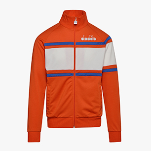 JACKET 80S, ORANGEADE, medium