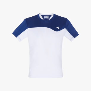 J. T-SHIRT TEAM, SALTIRE NAVY, medium