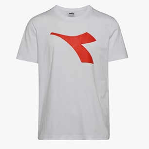 SS T-SHIRT LOGO, OPTICAL WHITE, medium