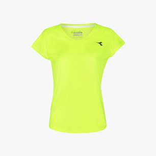 L. T-SHIRT TEAM, JAUNE, medium