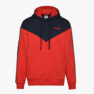 HOODIE 5PALLE OFFSIDE V, TOMATO RED, medium