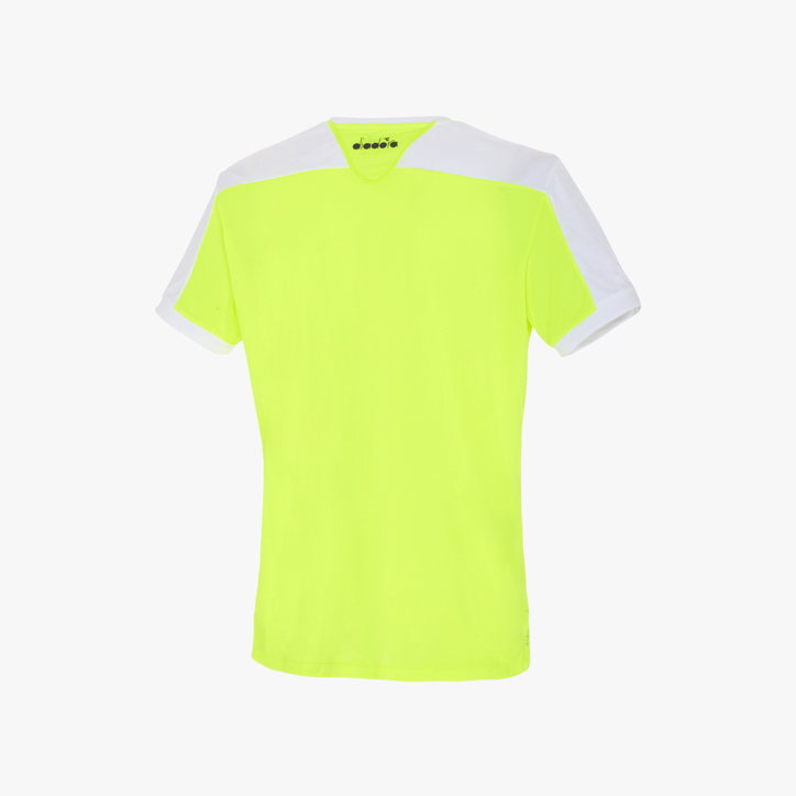 T-SHIRT COURT, YELLOW, large