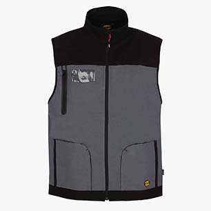 VEST STRETCH, RAIN GREY, medium
