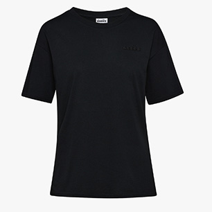 L.SS T-SHIRT CHROMIA OC, BLACK, medium