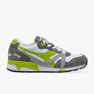 N9000 III, WHITE/CHARCOAL GRAY/LIME GREEN, medium