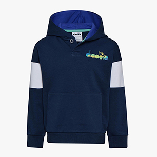 JB. HOODIE DIADORA CLUB, MARINEBLAU, medium