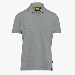 POLO MC ATLAR II, LIGHT MIDDLE GREY MELANGE , medium