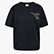 L. SS T-SHIRT FREGIO, BLACK, swatch