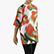 FLOWERS SHORT SLEEVE T-SHIRT AOP, OPTICAL WHITE/LIVING CORAL, swatch