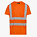 T-SHIRT HV ISO 20471, FLURESCENT ORANGE, swatch
