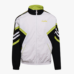 TRACK JACKET OFFSIDE '95, OPTICAL WHITE/BLACK, medium