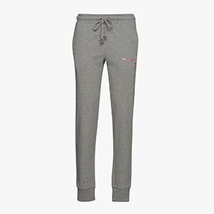 L.CUFF PANTS FREGIO, LIGHT MIDDLE GREY MELANGE, medium