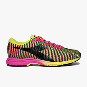 MYTHOS FAST RACER 2, YELLOW FLUO/PINK FLUO, medium