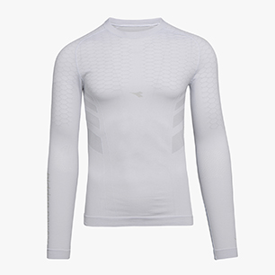 LS T-SHIRT ACT, OPTICAL WHITE, medium