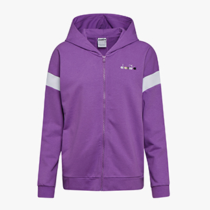 L. HOODIE FZ SPOTLIGHT, VIOLET BERRY (55206), medium