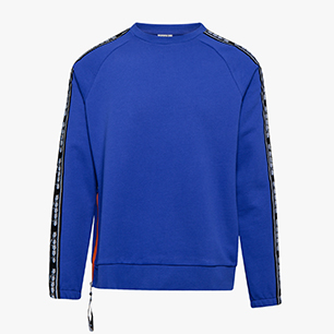 SWEATSHIRT CREW TROFEO, IMPERIAL BLUE, medium