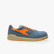 D-JUMP LOW S1P SRC ESD, FADED DENIM/FLAME ORANGE, swatch