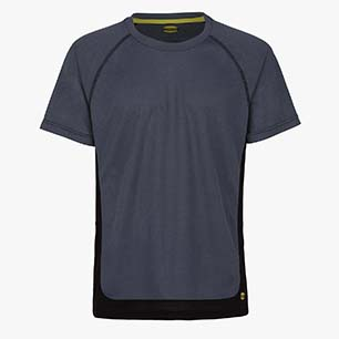 T-SHIRT TRAIL SS ISO 13688:2013, GRIS ACERO, medium