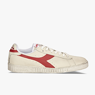 GAME L LOW WAXED, WHITE/RED PEPPER, medium