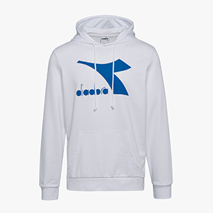 HOODIE BIG LOGO, OPTICAL WHITE, medium
