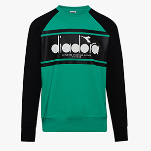 SWEATSHIRT CREW SPECTRA, HOLLY GREEN, medium