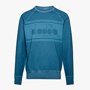 SWEATSHIRT CREW SPECTRA USED, BLUE PEARL ARBOR, medium