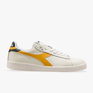 GAME L LOW, WHITE/GOLDEN ROD, medium