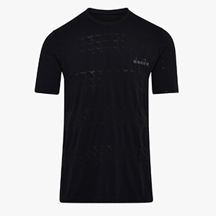 SS SKIN FRIENDLY T-SHIRT, NEGRO, medium