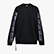 L. SWEATSHIRT CREW TROFEO, BLACK, swatch