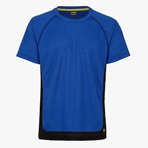 T-SHIRT TRAIL SS ISO 13688:2013, MICRO AZUL, medium