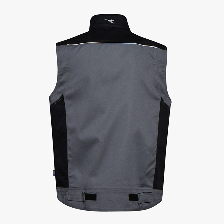 VEST EASYWORK LIGHT ISO 13688:2013, GRIS MÉTAL , large
