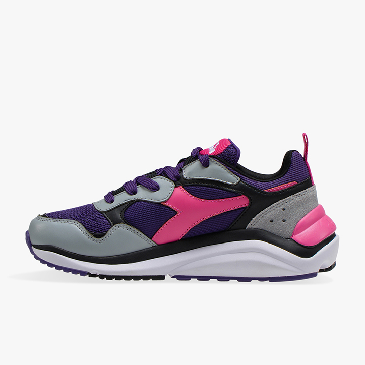 Diadora Whizz Run Super WhiteCalypso Coral