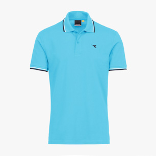 POLO PQ, ATOLL BLUE, medium