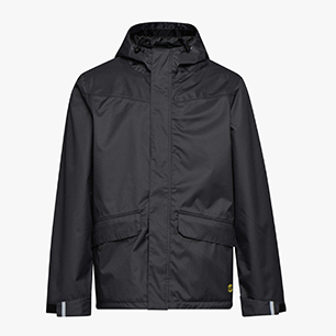 RAIN JKT LITEWORK EN 343, BLACK COAL, medium