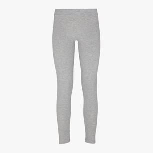 L.STC LEGGINS, LIGHT MIDDLE GREY MELANGE, medium
