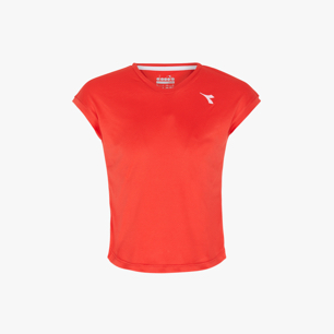 G. T-SHIRT TEAM, ROJO, medium