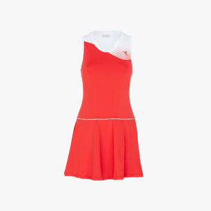 L. DRESS COURT, ROJO, medium