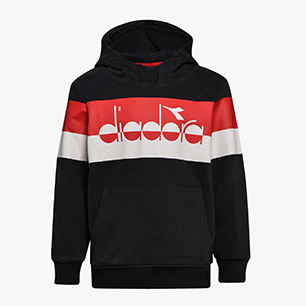 JB.HOODIE SWEAT 5PALLE, BLACK, medium