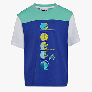 JB. T-SHIRT SS DIADORA CLUB, BLUE CLEMATIS, medium