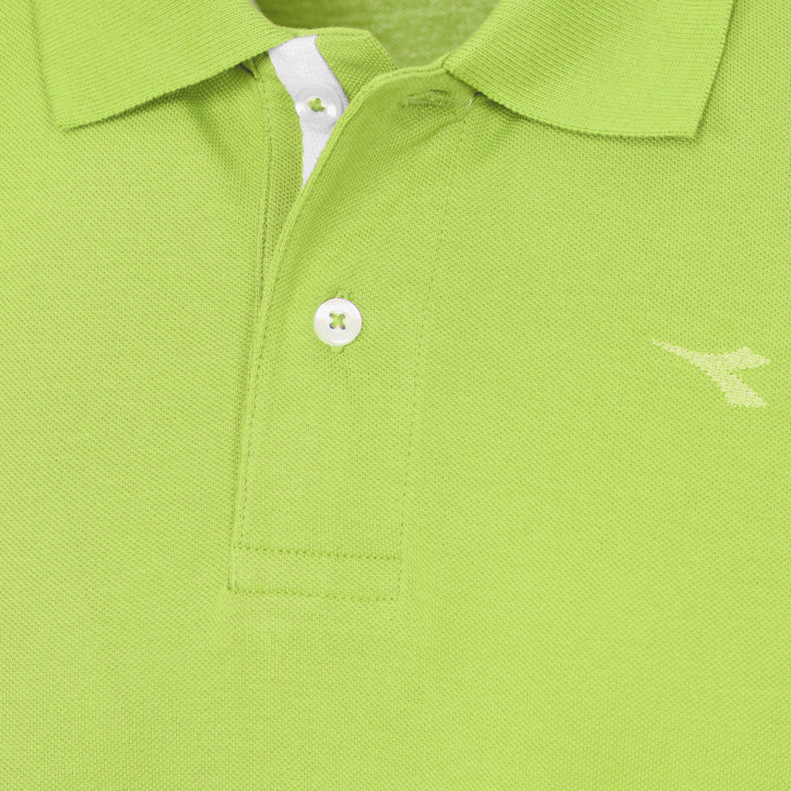 POLO PQ, LIME PUNCH, large