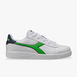 GAME P GS, WHITE/BLACK IRIS/CLASSIC GREEN, medium