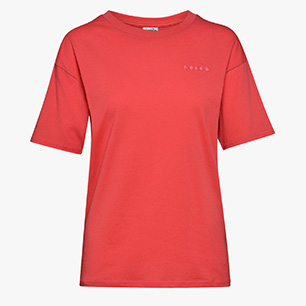 L.SS T-SHIRT CHROMIA OC, GERANIUM RED, medium