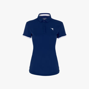 L. POLO COURT, SALTIRE NAVY, medium