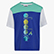 JB. T-SHIRT SS DIADORA CLUB, BLUE CLEMATIS, swatch