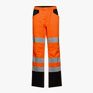 HV PANT CARGO ISO 20471, FLURESCENT ORANGE, medium